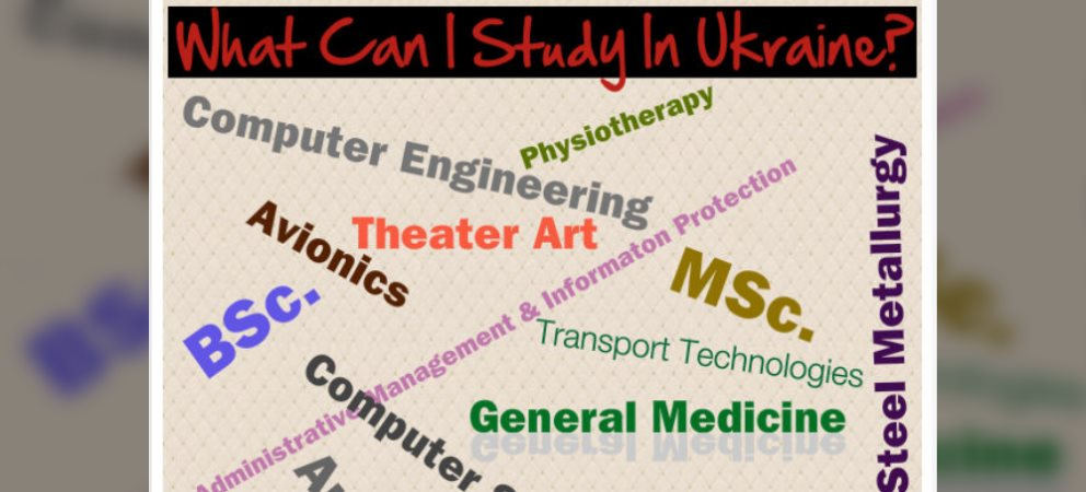 What Can I Study in Ukraine