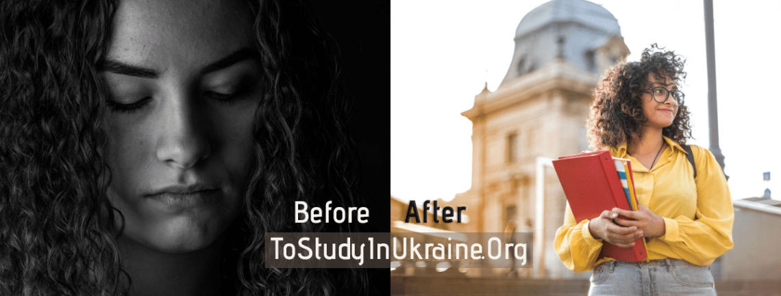 Study In Ukraine Admission Success - Before & After